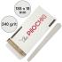 Набор сменных файлов для пилки Капля 155 мм, 240 грит, Белые — ThePilochki | фото 780