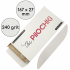 Набор сменных файлов для пилки Капля 167 мм, 240 грит, Белые — ThePilochki | фото 770