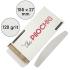 Набор сменных файлов для пилки Полумесяц 155 мм, 120 грит, Белые