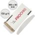 Набор сменных файлов для пилки Полумесяц 180 мм, 150 грит, Белые