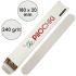 Набор сменных файлов для пилки Прямой 180 мм, 240 грит, Белые — ThePilochki | фото 765