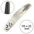 Металлическая основа для пилки, Полумесяц 110 мм — ThePilochki | фотография