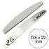 Бафы-шлифовщики для пилочного маникюра, 320 грит, 135 мм, Серые — ThePilochki | фото 800