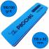 Баф-шлифовщик для ногтей, 100/100 грит, Синий, 115 х 33 мм