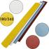 Пилочка для маникюра, 180/240 грит, Ровная 155 мм, Желтая