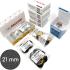 Стартовый набор Подо-Диск 21 мм для аппаратного педикюра