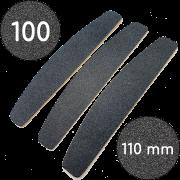 Сменные файлы для пилки, 100 грит, Полумесяц 110 мм, Черные