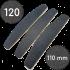 Сменные файлы для пилки, 120 грит, Полумесяц 110 мм, Черные