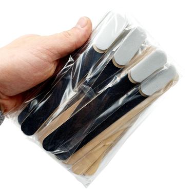 Одноразовый набор , пилочка + баф, 150/100 грит — ThePilochki | фотография
